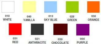 BOB plastiku värvivalik 2