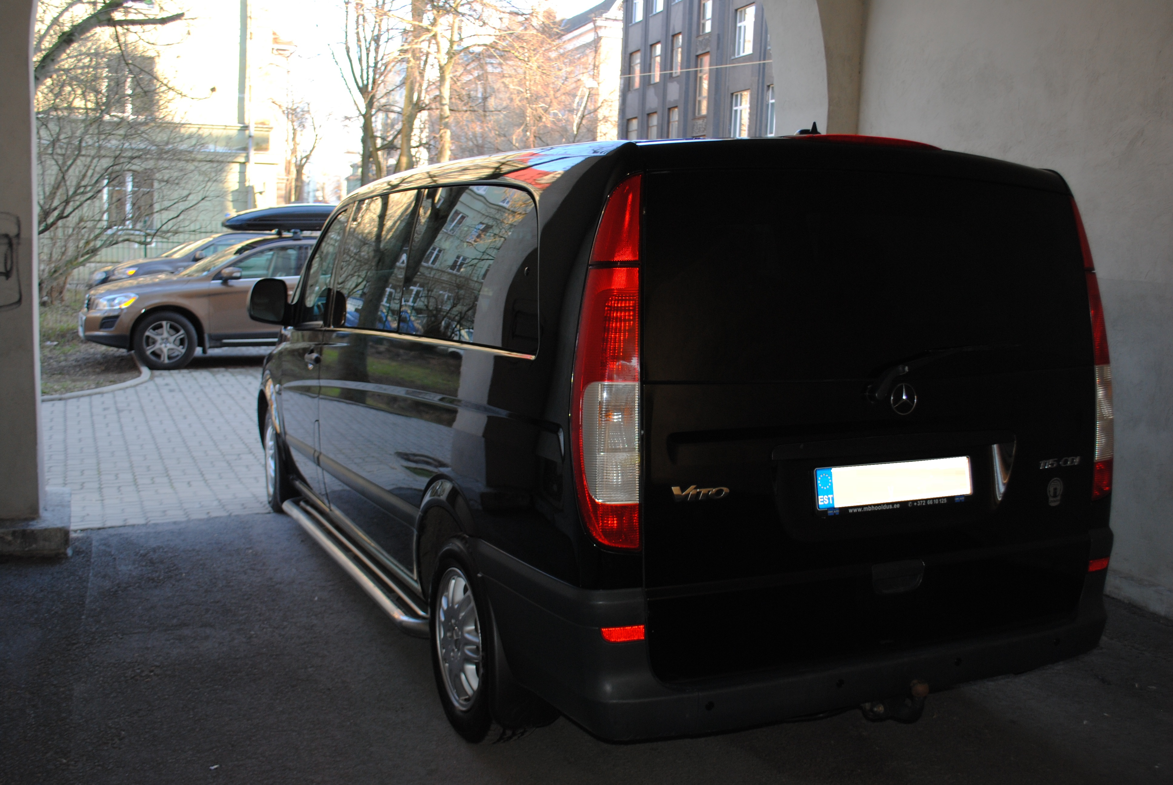 Väikebuss MB Vito 2006